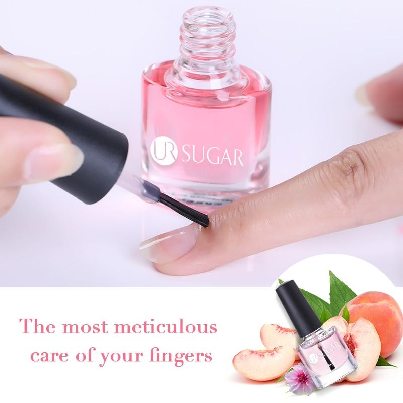 Масло для кутикулы UR SUGAR, питание, омолаживающий фруктовый ароматизатор, лак для ногтей, инструменты для дизайна ногтей, ручка для ухода