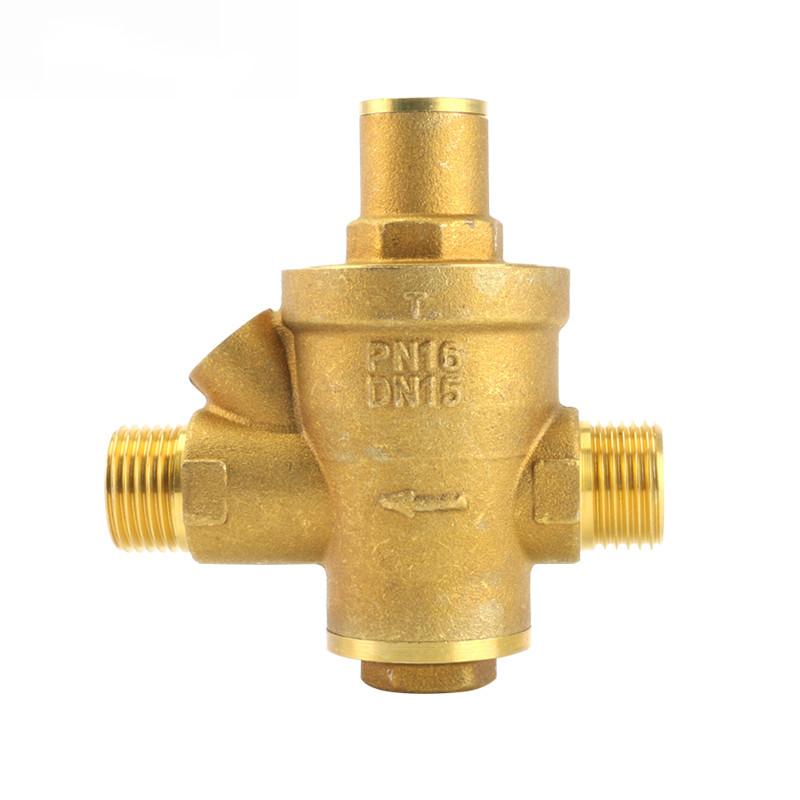 Brass Water Pressure Regulator Valves Without Pressure Gauge Pressure Maintaining Valve Water Pressure Reducing Valve DN15-DN40 1pcs oxygen regulator pressure gauge pressure reducing valve input 15mpa g5 8