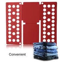 Folding Board Child Magic Clothes Folder T Shirts Jumpers Organiser Fold Save Time Quick Holder For Kids