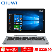 CHUWI официальный! CHUWI Hi13 Планшеты ПК Intel Apollo Lake N3450 4 ядра 4 ГБ Оперативная память 64 ГБ Встроенная память 13.5 дюймов 3 К IPS Экран 5.0MP Камера