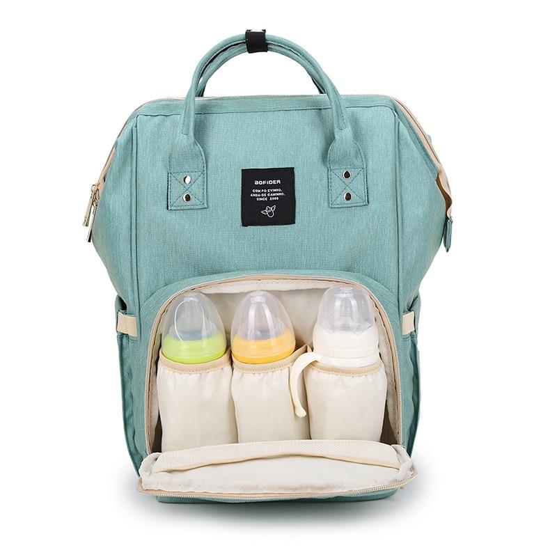 Mode Mumie Mutterschaft Windel Tasche Marke Große Kapazität Baby Tasche Reise Rucksack Desinger Pflege Tasche für Baby Pflege