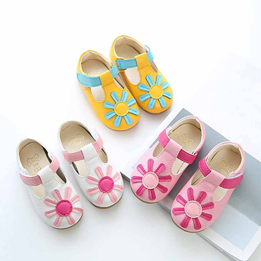 7943b97d983571 Detail Feedback Questions about shoes for babies Children Kids Girls Floral  Non SlipSneaker Leather Pricness Casual Single Shoes New Summer boots  Toddler ...