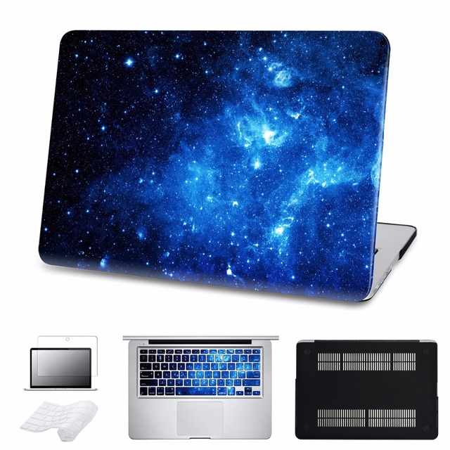 new concept 2b60d 71e82 US $29.48 48% OFF 5 in 1 Bundle Hard Case For Galaxy Macbook Air 13 A1466  With Keyboard Cover For MacBook Air Pro Retina 11 12 13 15 inch Laptop -in  ...
