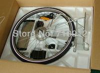 FreeShipping250W48VRear Motor DC Hall/ No Hall Brushless 128V Brake 7 speed CE Electric Bike/E scooter/Pedelec KIT340rpmOR01B4