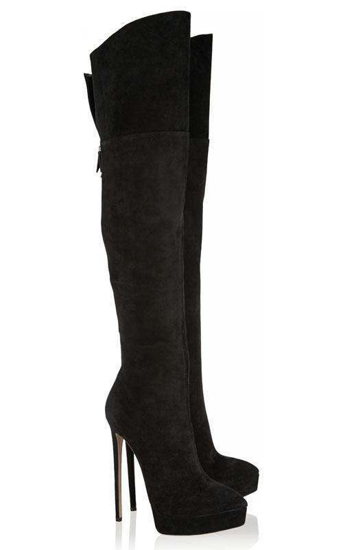 Online Get Cheap Thigh High Boots Size 11 -Aliexpress.com ...