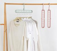 10PCS multi functional clothes rack for drying household balcony kitchen cabinet hanging clothes rack clothes support