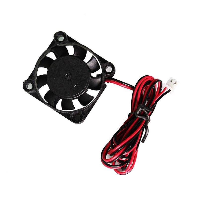 2 Pin 40*40mm Super Silent Mini Cooling Fans 4010 Extruder DC Cooling Fan DC 24V 3D Printer Accessories