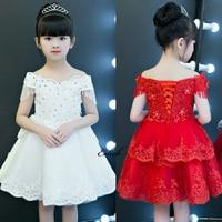 Eslieb Flower Girl Dresses Princess For Weddings Bench Weddings Butterfly Embroidery Kids Dress Girl S Pegeant