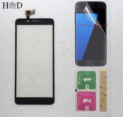 5.5 ''ekran dotykowy do Doopro P5/P5 Pro Perfect Repair Parts czujnik soczewki dotykowej szkło przednie bezpłatna folia ochronna w Panele dotykowe do telefonów komórkowych od Telefony komórkowe i telekomunikacja na