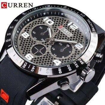 db011815da29 2019 Curren hombres de marca de lujo relojes deportivos de agua de ...