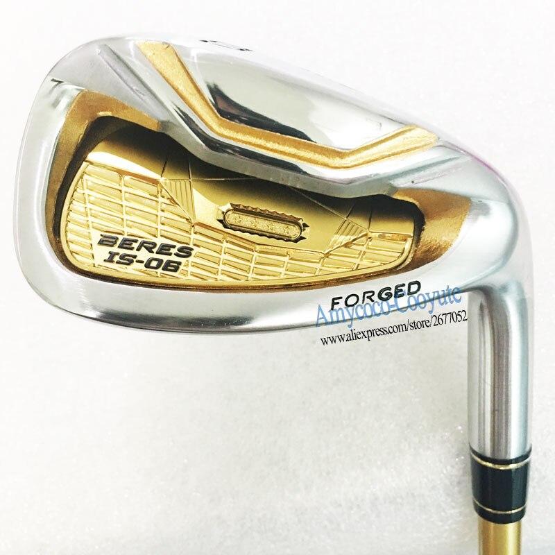Nouveaux Bâtons de Golf HONMA S-06 4 Étoiles Fers De Golf 4-11Sw HONMA IS-06 Clubs Fers NSPRO 950 Golf En Acier arbre R ou S Flex livraison gratuite