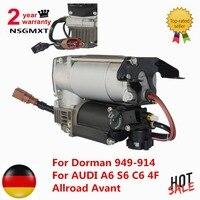 AP01 Air Suspension Compressor ปั๊มสำหรับ Dorman 949-914 สำหรับ AUDI A6 S6 C6 4F Allroad Avant 4F0616006A 4F0616005E 4F0616005
