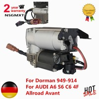 AP01 Air Suspension Compressor Pump For Dorman 949 914 For AUDI A6 S6 C6 4F Allroad Avant 4F0616006A 4F0616005E 4F0616005