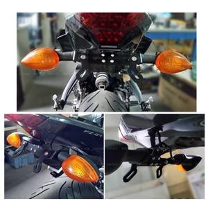 Image 5 - Kennzeichen Halter Für YAMAHA MT 07 MT 07 MT07 FZ 07 FZ07 2014  2020 2019 2018 2017 Motorrad Zubehör Schwanz ordentlich Fender