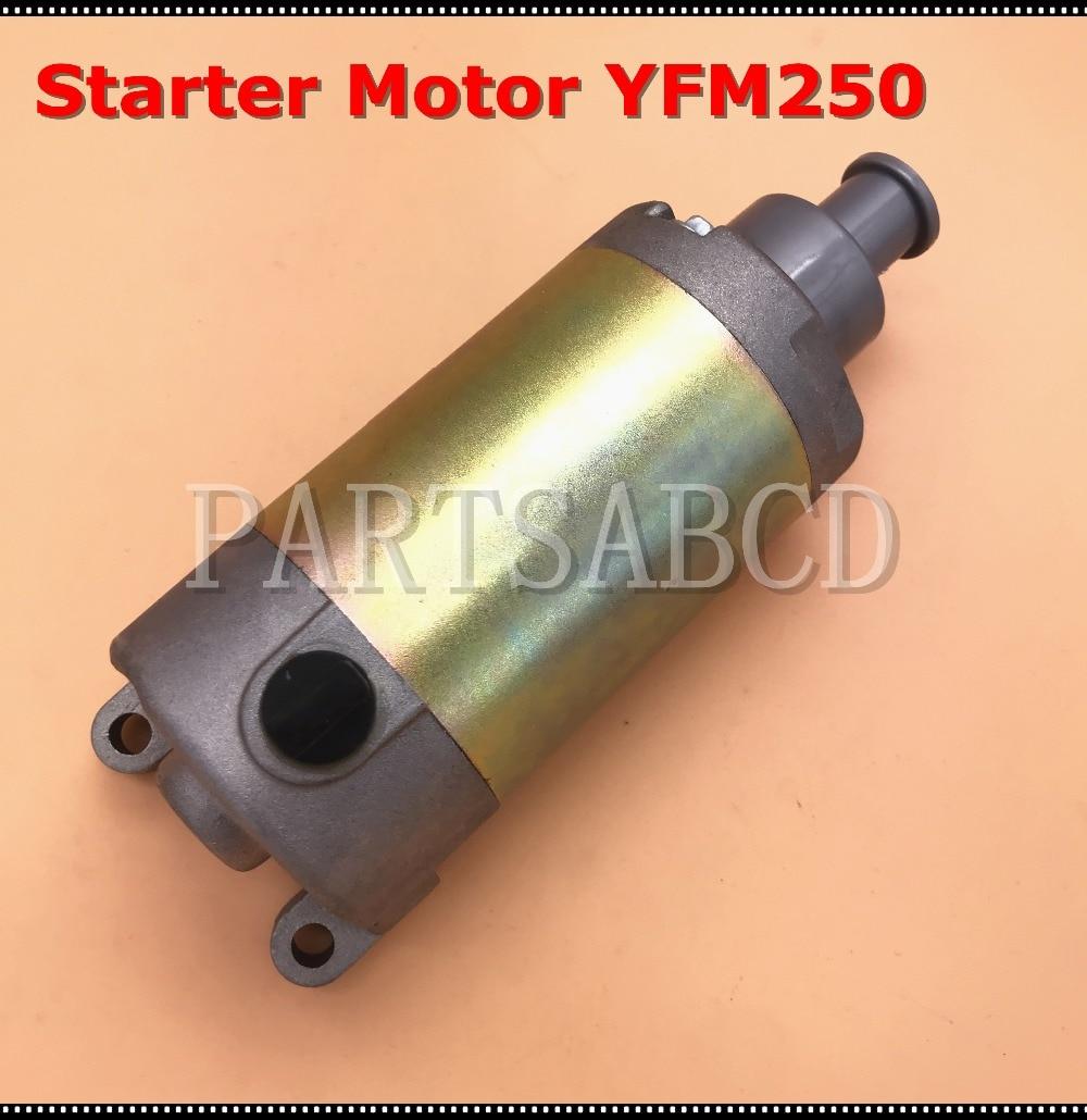 Yamaha YFM250 ATV Raptor YFM25R 250 SE Starter Motor 2008-2012 3C5-81890-00-00