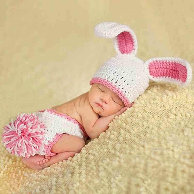5e7a7ef9582ce Newborn Knitting Baby Clothing Sets Photo Clothes Costumes Baby Boy ...