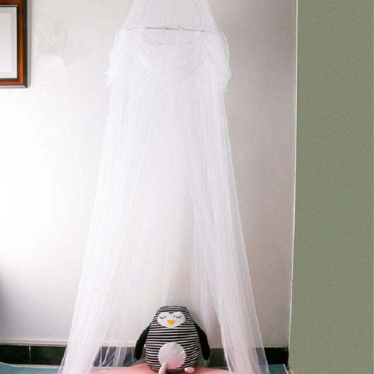 Opknoping Kid Beddengoed Ronde Dome Bed Canopy Bedcover Netto Garen Gordijn Thuis Bed Wieg Tent Opgehangen Spelen