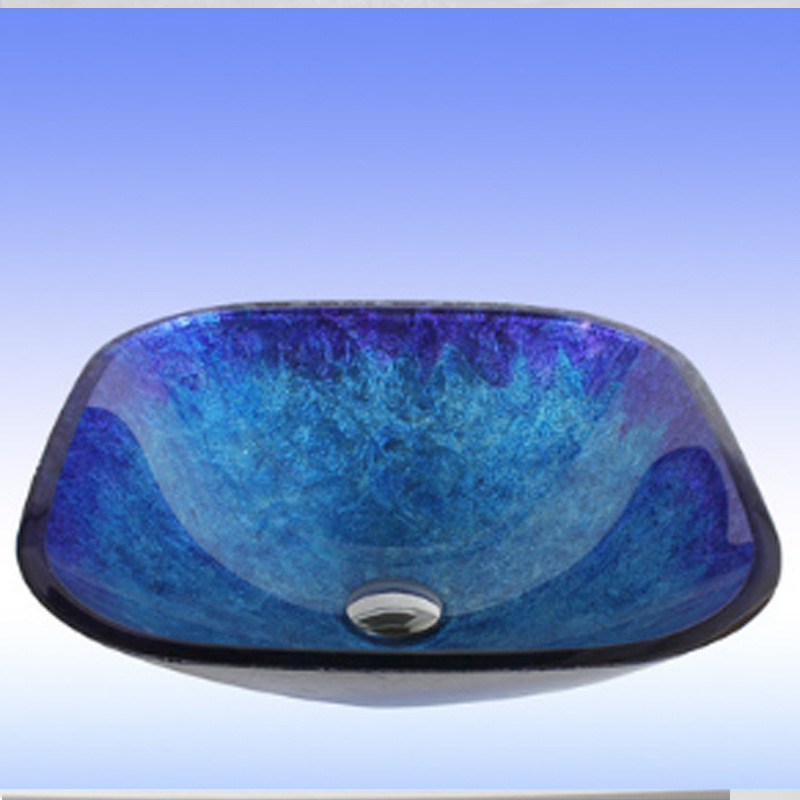 Ordinaire LUXURY BLUE Glass Basin Sink Bowl With MATCHING Glass WATERFALL Tap  Bathroom In Bathroom Sinks From Home Improvement On Aliexpress.com |  Alibaba Group