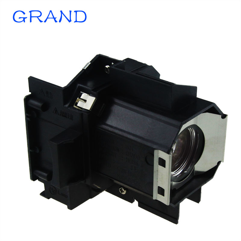 Projector lamp ELPLP39 V13H010L39 for Epson EMP TW700 TW980 EMP TW1000 TW2000 Powerlite HC 1080 UB With housing  HAPPY BATE elplp39 projector lamp for emp tw1000 emp tw2000 emp tw700 emp tw980 powerlite hc720 tpowerlite pc1080 powerlite pc810 hc 1080
