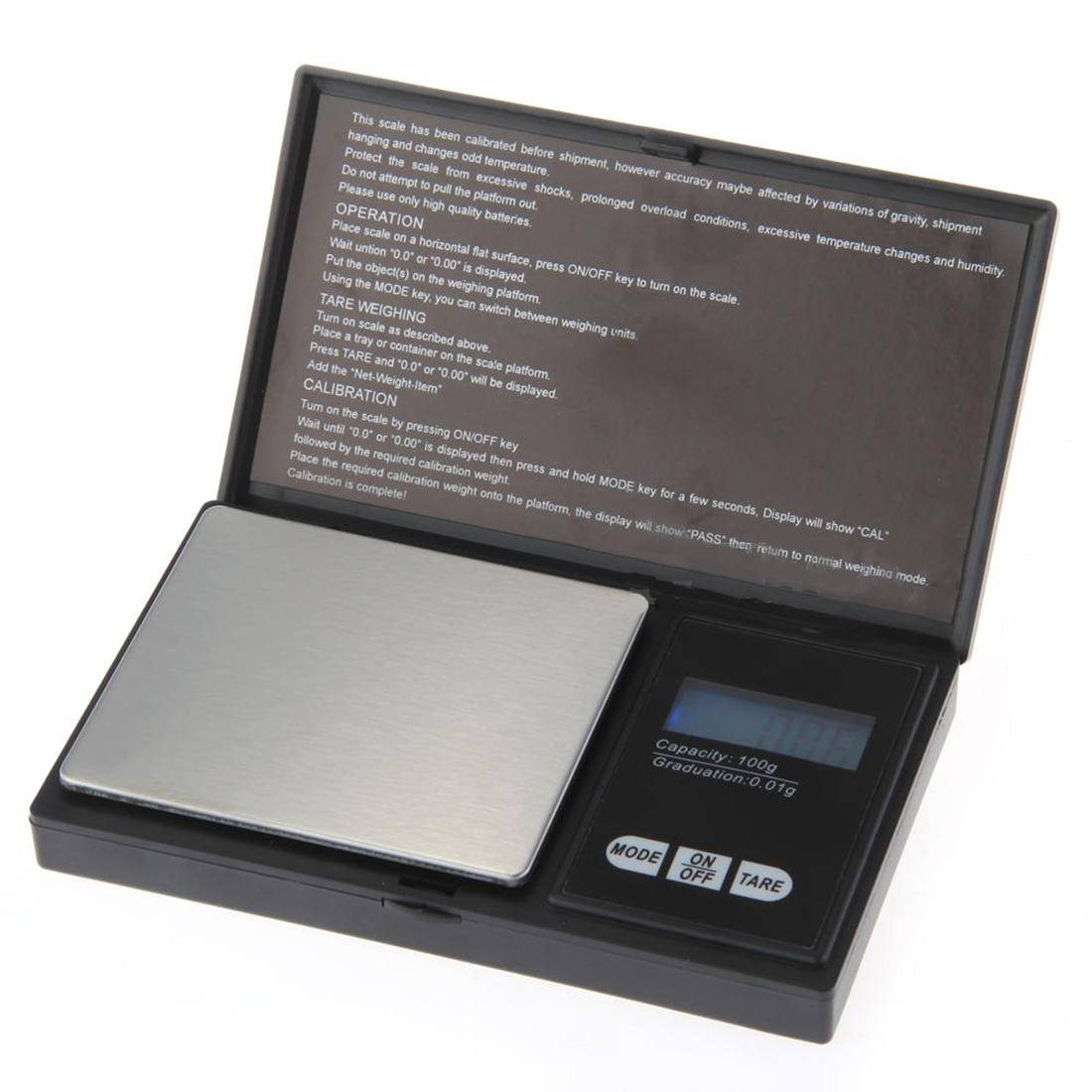 100g * 0.01g LCD Digital Pocket Scale Jewelry Gold Gram Balance Weight Scale Pocket Electronic Scales lcd digital jewelry scales 500g 0 1g electronic scale precision portable pocket weight balance kitchen gram scale