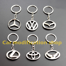 1 PCS Car Fashion Keychain 3D Metal Key Holder Logo Auto Keyring Car Styling Key Chain Key Ring for Gift Auto Accessories(China)