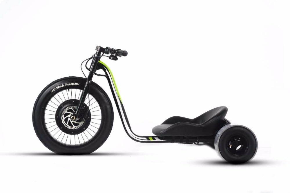2017 neueste Design 48 v 1500 Watt Fett Reifen Drift Trike ...