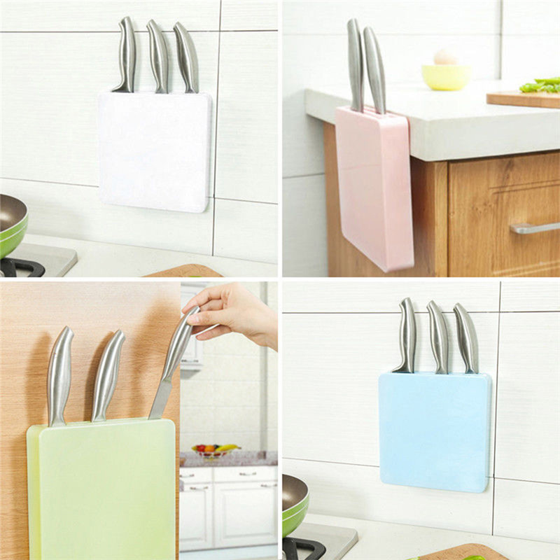Plastic Miti-fuctional Storage Rack Kitchen Tool For Vegetable & Fruit Beef Cutter Wall Hang Cutter Holder Kitchen Accessories