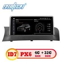Android 9,0 ID7 6 ядерный автомобильный DVD для BMW X3 F25, X4 F26 CIC/NBT плеер аудио стерео Мультимедиа gps стерео монитор ips экран