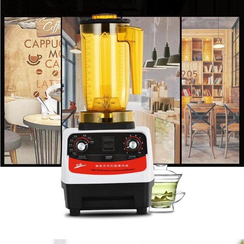 Multifunzionale 220 v Automatico Tè Extractor Juicer Macchina Frullato di Schiuma di Latte di Tè E Caffè Spremiagrumi EU/AU/UK Per commerciale Che Utilizza - 2