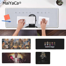 MaiYaCa Vintage Cool Kanye West  Laptop Computer Mousepad Free Shipping Large Mouse Pad Keyboards Mat