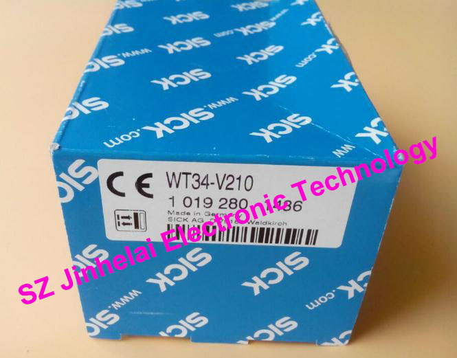100%New and original WT34-V210, WT34-R210 SICK Photoelectric switch sick photoelectric switch reflex sensor wt100 n1432