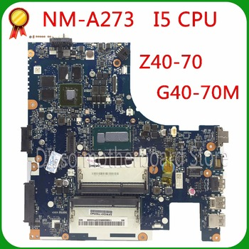 KEFU NM-A273 motherboard For Lenovo Z40-70 i5 motherboard ACLUA/ACLUB NM-A273 840M/820M Test original motherboard