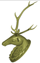 3d model relief for cnc in STL file format Deer head(China)