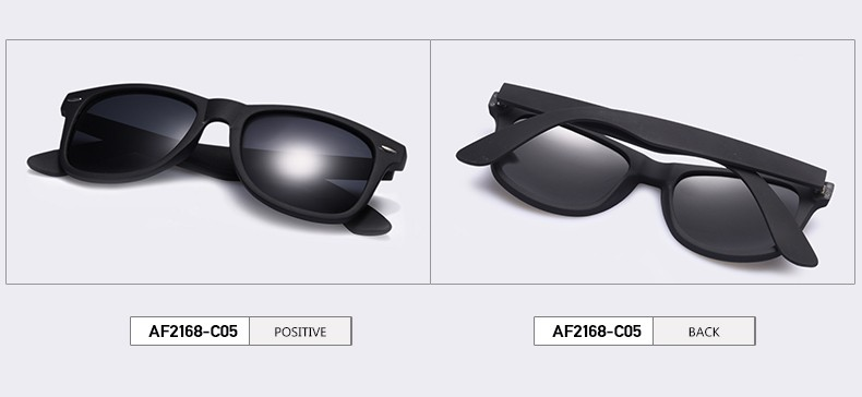 fornt and back polarised sunglasses for men