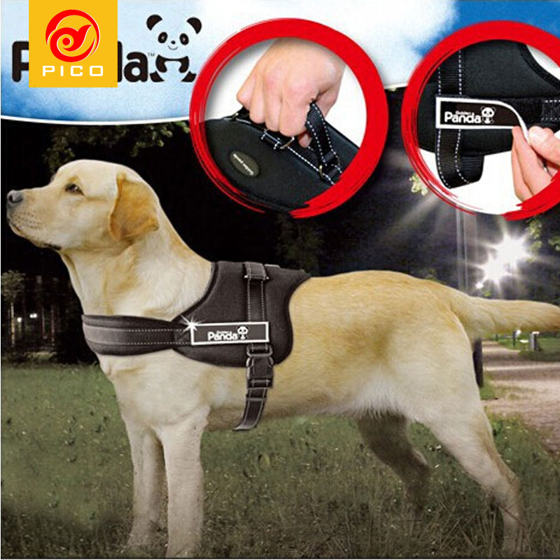 Pet Dog collar nylon Soft Hot Sale Large Dog Suspenders Pet Harness Retractable Dog Leash Accessories for dogs ZL311
