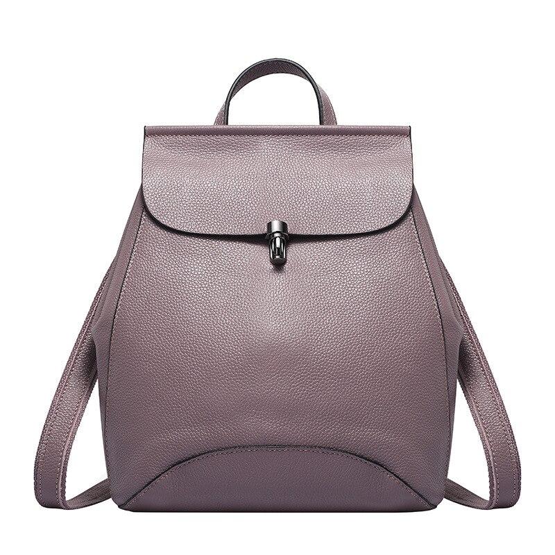 Amasie Genuine leather Bag for women vintage backpack Backpacks for Teenage Girls Female School Shoulder Bag Bagpack EGT0143 цены