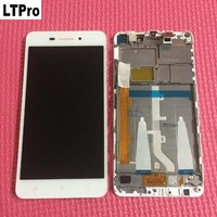 100 Tested Working 5 0 Full LCD Display Touch Screen Digitizer Assembly With Frame For Lenovo