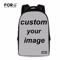 FORUDESIGNS Custom Men Women Laptop Backpack Male Female Customizable 17 Inch Large Printing Backpack Girls Boy