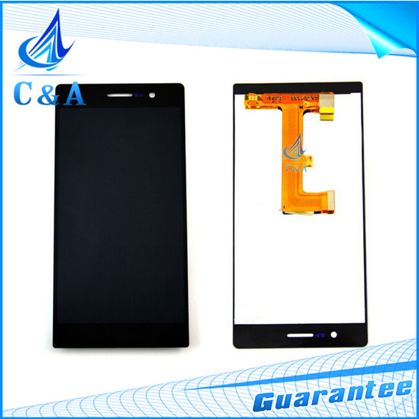10 pcs tested DHL/EMS post replacement repair parts 5 inch screen for Huawei Ascend P7 lcd display with touch digitizer assembly