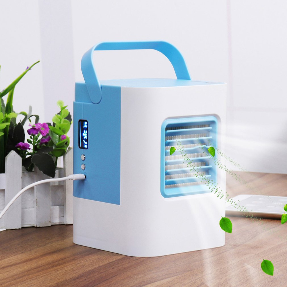цена на gadget usb fan Cooler gadgets cool USB Air Conditioner Air Cooler Home Office Desk Cooler Cooling Bladeless Fan dropshipping