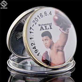 The Sportman of The Century Muhammad Ali Coin 1.57*0.12 Collectible Coin In Acrylic Case image