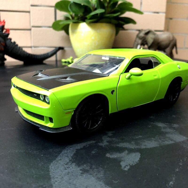 JADA 1/24 Modalità Auto in Scala Giocattoli Dodge Challenger STR Diecast Metallo Toy Model Car Per Collezione/Regalo/Bambini/decorazione
