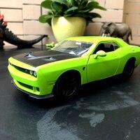JADA 1/24 Scale Car Mode Toys Dodge Challenger STR Diecast Metal Car Model Toy For Collection/Gift/Kids/Decoration