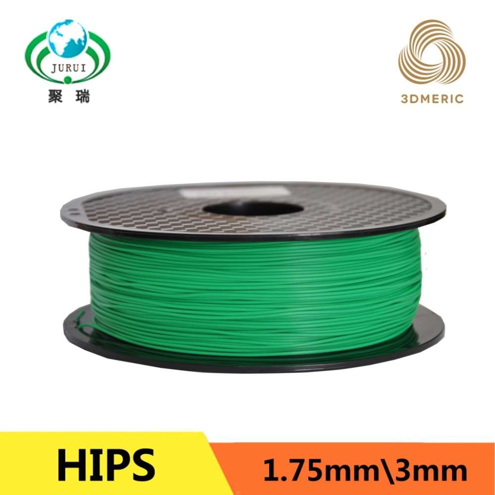 1.75mm HIPS 3D Printer Filament For Makerbot Mendel Printrbot Reprap Prusa Sumpod/UP Machine Filament Consumables Material 3d printer parts filament for makerbot reprap up mendel 1 rolls filament pla 1 75mm 1kg consumables material for anet 3d printer