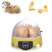 TTLIFE 7 Digital Chicken Duck Egg Incubator Temperature Control Automatic Turning/Chicken Hatcher encubadoras para pollos стоимость