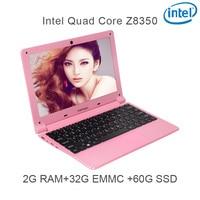 "intel atom z8350 P5-07 USB3.0 מחברת 2G RAM 32G eMMC 64G Intel Atom Z8350 11.6"" Windows 10 HDMI WIFI מערכת מחשב נישא Bluetooth למחשב שחור (1)"