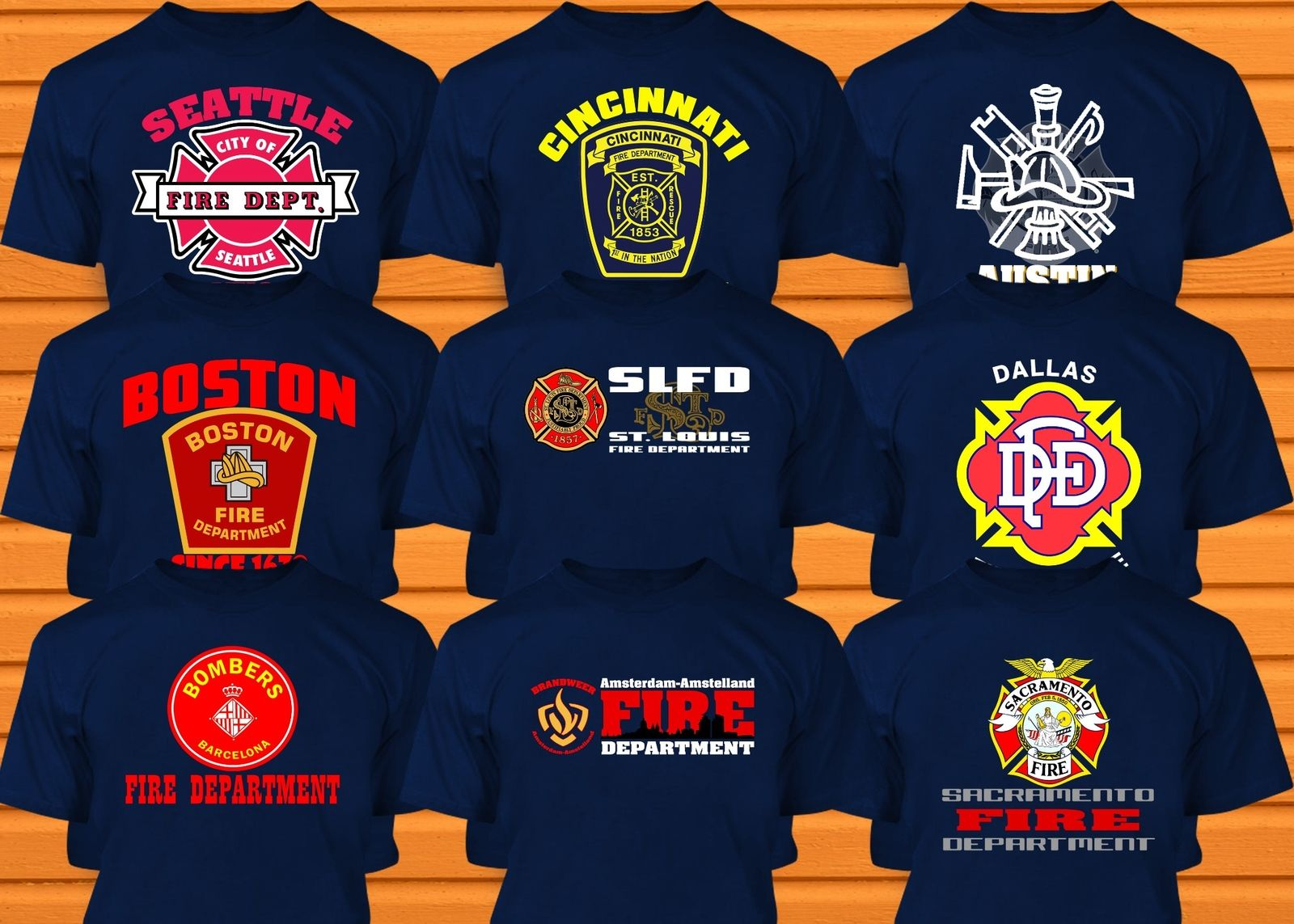 c5f7923b Firefighter T Shirts For Girlfriends – EDGE Engineering and ...