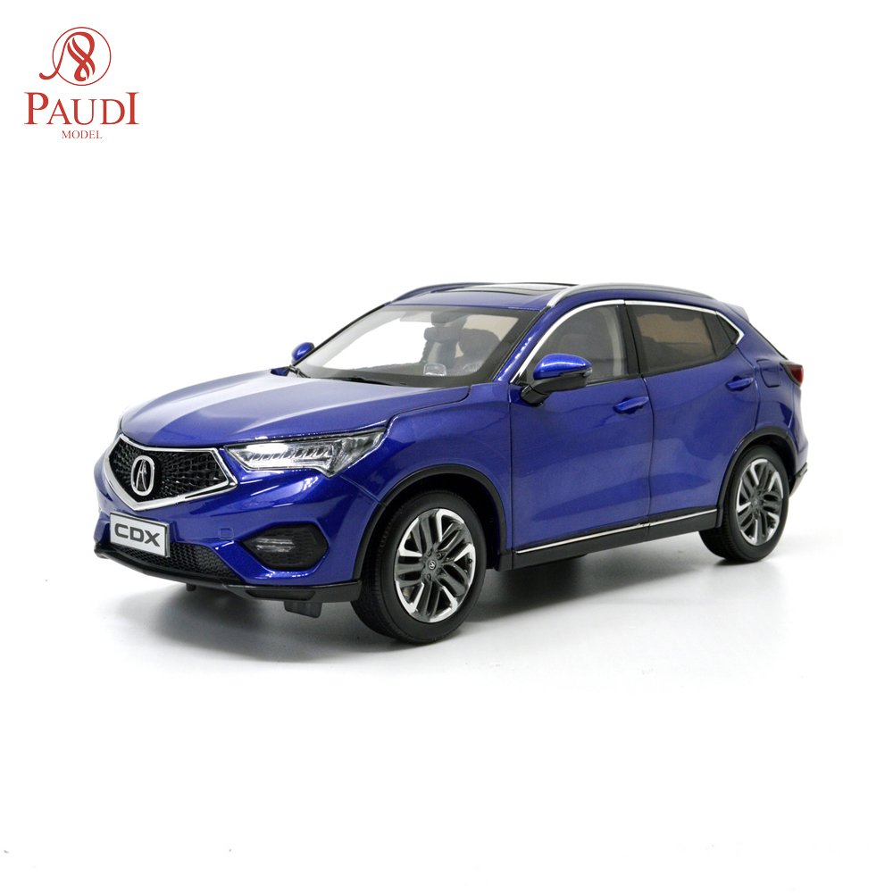 Paudi Model 1/18 1:18 Scale Acura CDX 2018 SUV Blue