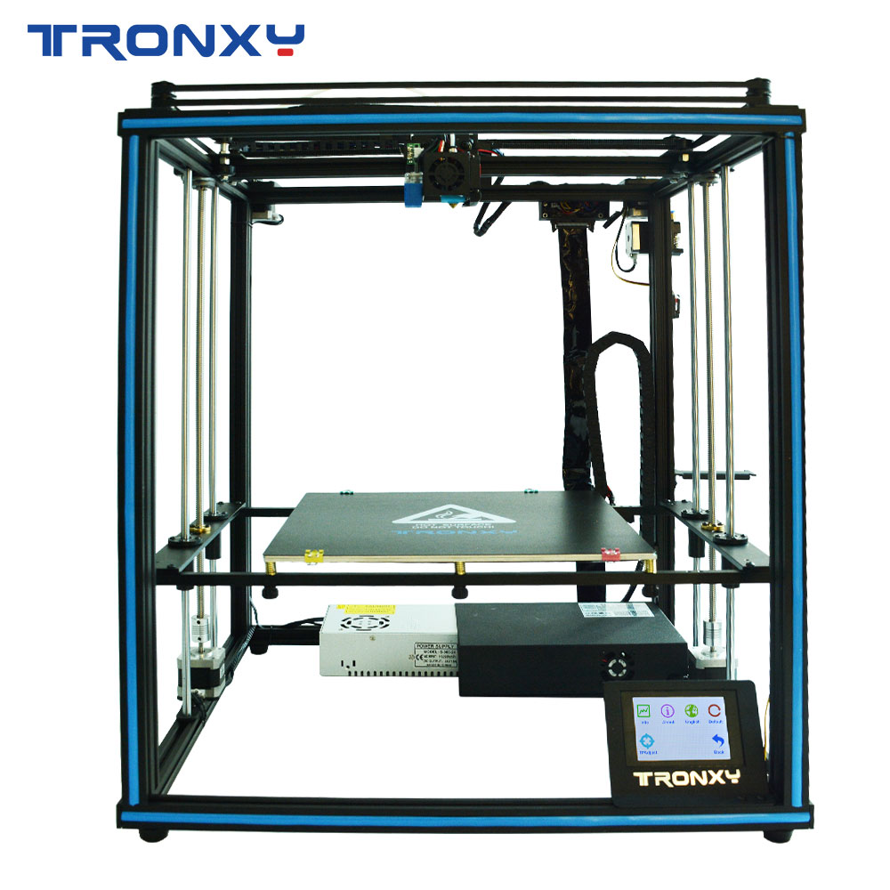 TRONXY New design 24V Touch Screen 3D printer KIT X5SA DIY full Metal Structure printing large