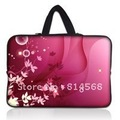 "17"" 17.3"" Red Neoprene Laptop Carrying Bag Sleeve Case Cover Holder+Hide Handle For HP Dell Acer Apple"